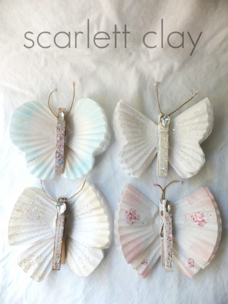 Cupcake Liner Butterflies - Art Is Medicine