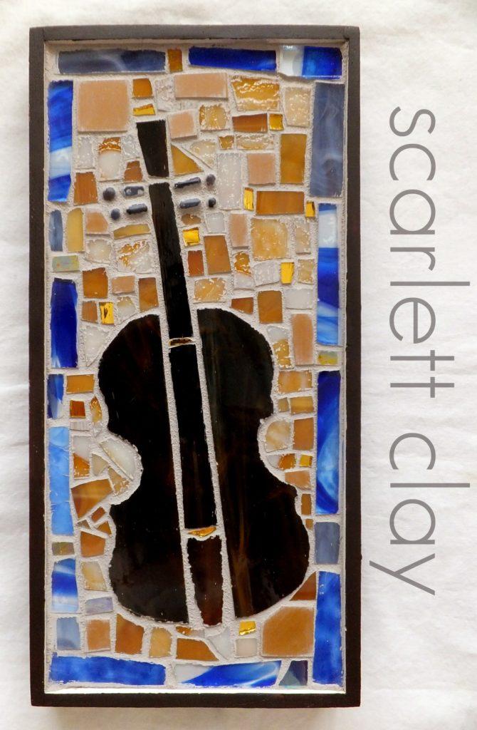 Violin Mosaic 1