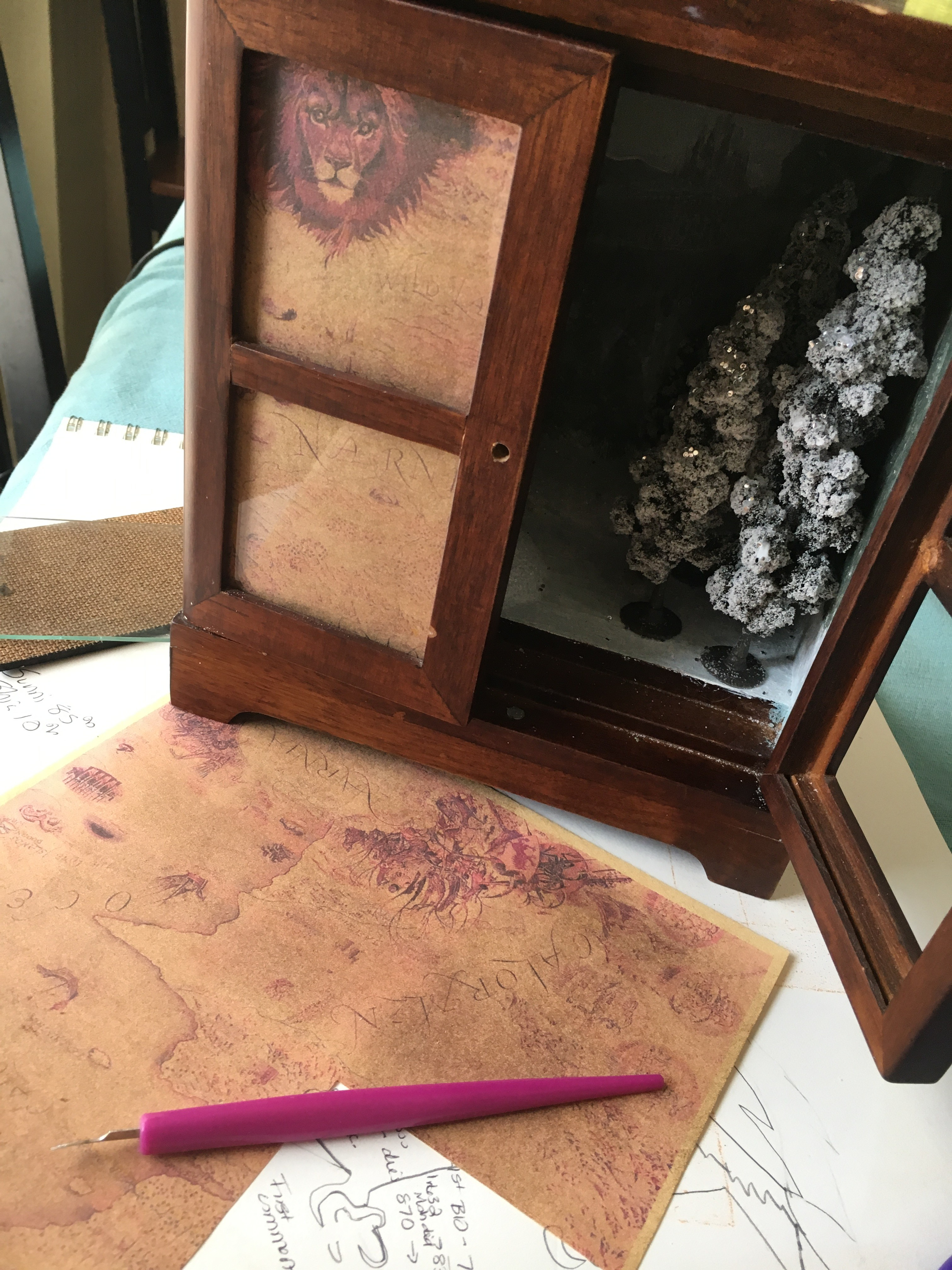 A Peek Into Narnia Art Is Medicine